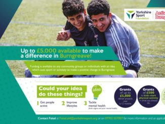 Yorkshire Sport Foundation grant