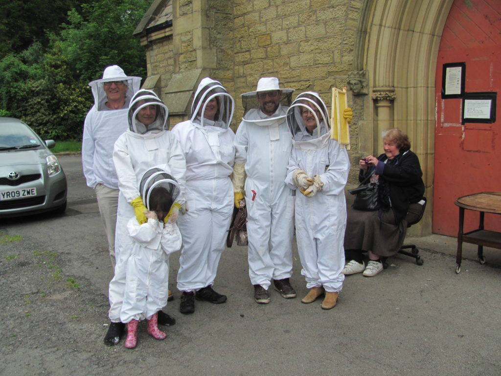 Burngreave Cemetery bee keepers