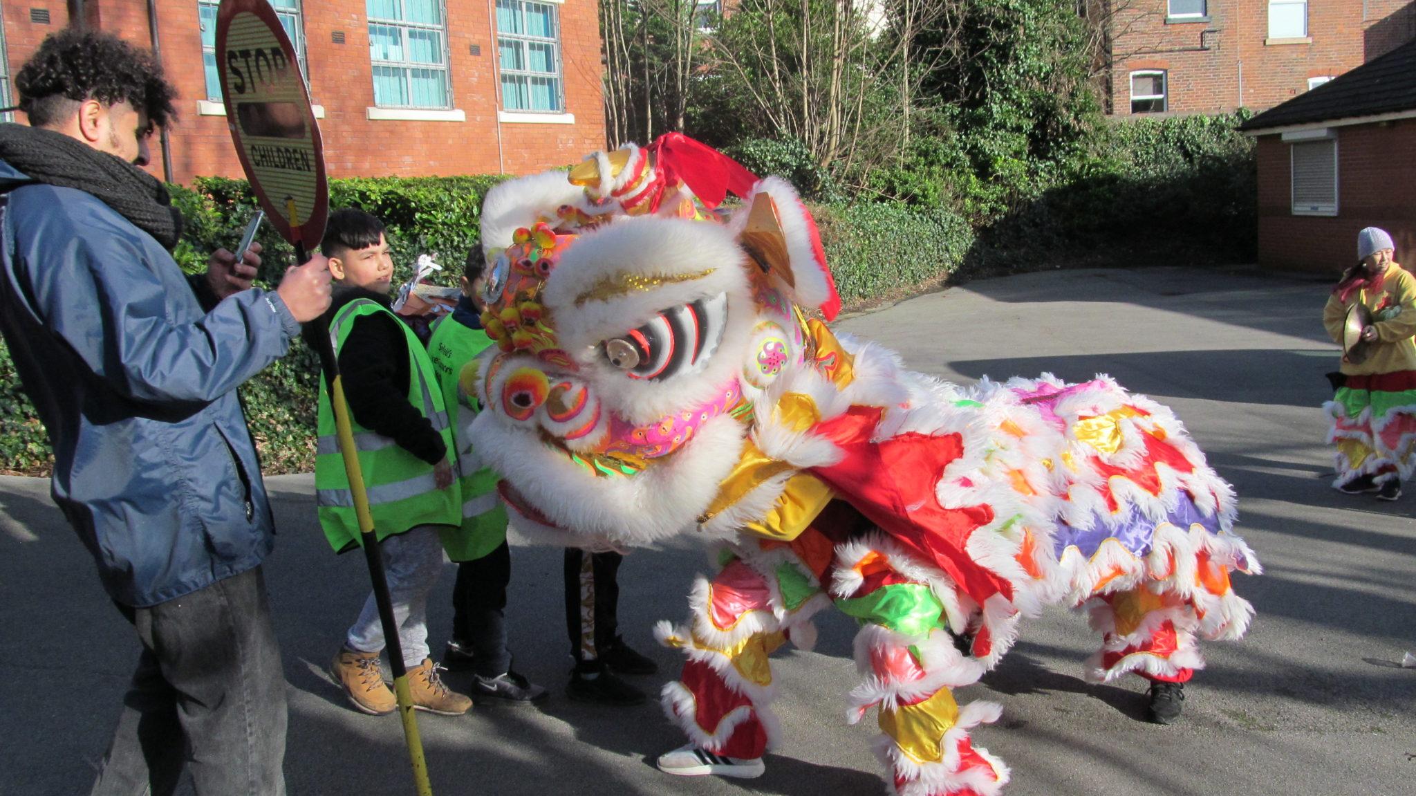 Chinese New Year dragon parade