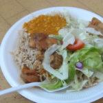 Food on offer at Verdon Recreation Centre