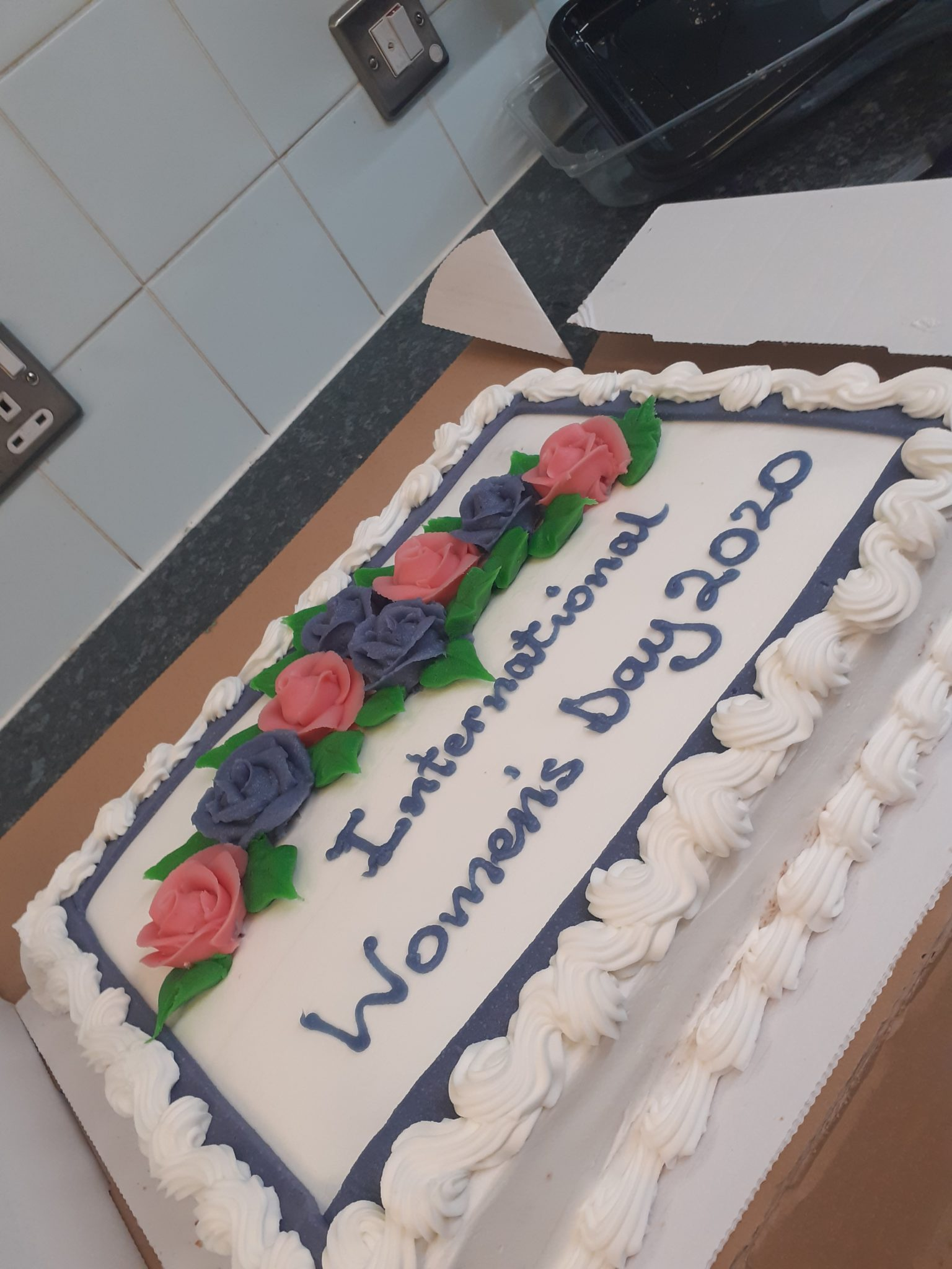 International Womens Day cake