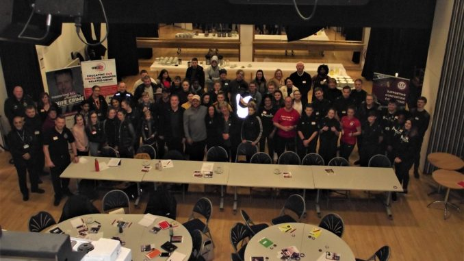 Knife crime youth conference