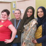 SOAR Staff Rosie, Trudi, Sofeena, Naheen