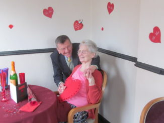 St Catherines Valentines Day couple