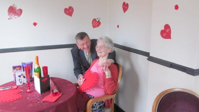St Catherines Valentines Day couple