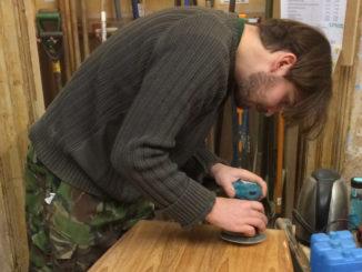 Toolbank sanding