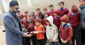 Zia Khan Kashmir visit