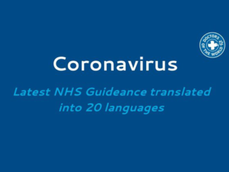 Coronavirus guidance tranlated