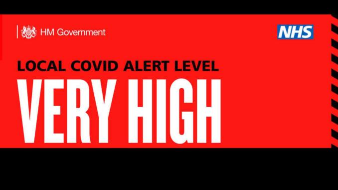 Covid alert: very high