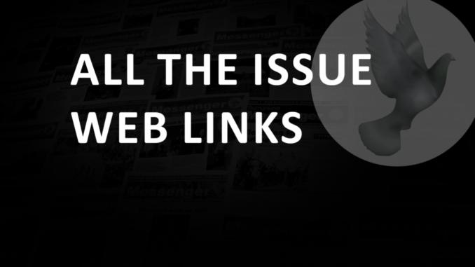 Issue weblinks October 2020