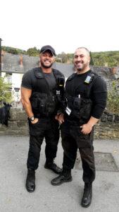 Page Hall wardens Stuart and Khalid