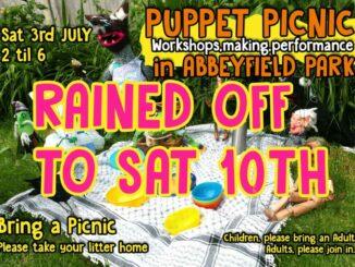 Puppet Picnic postponed