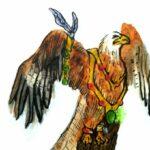 Edgar Lowman red kite logo