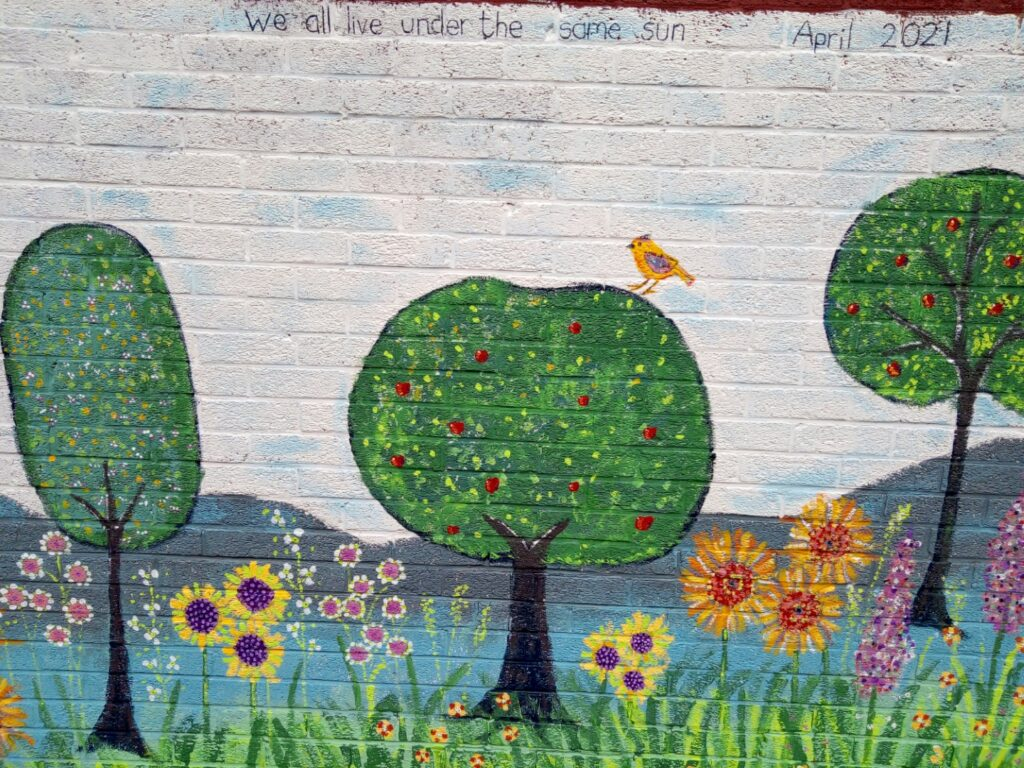 Furnival First mural by Ali