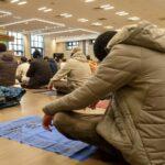Prayers at Petre Street Mosque