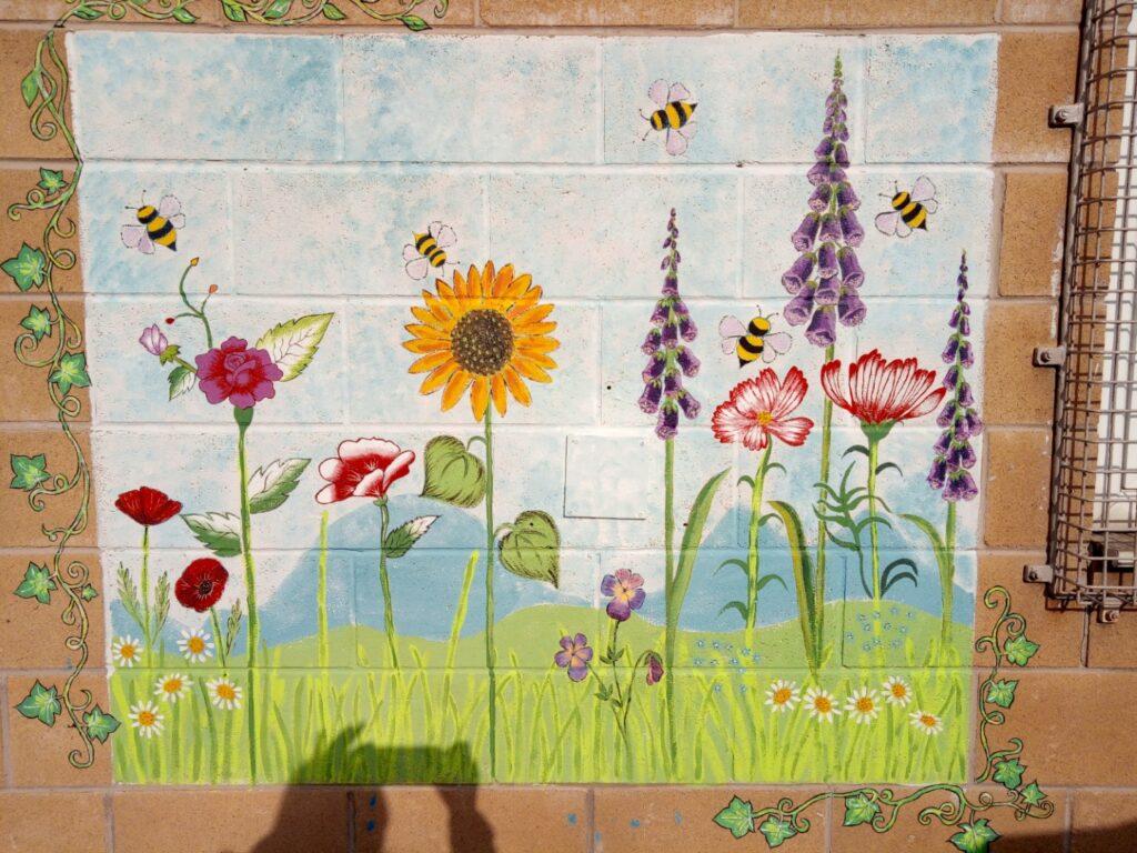 Furnival second mural