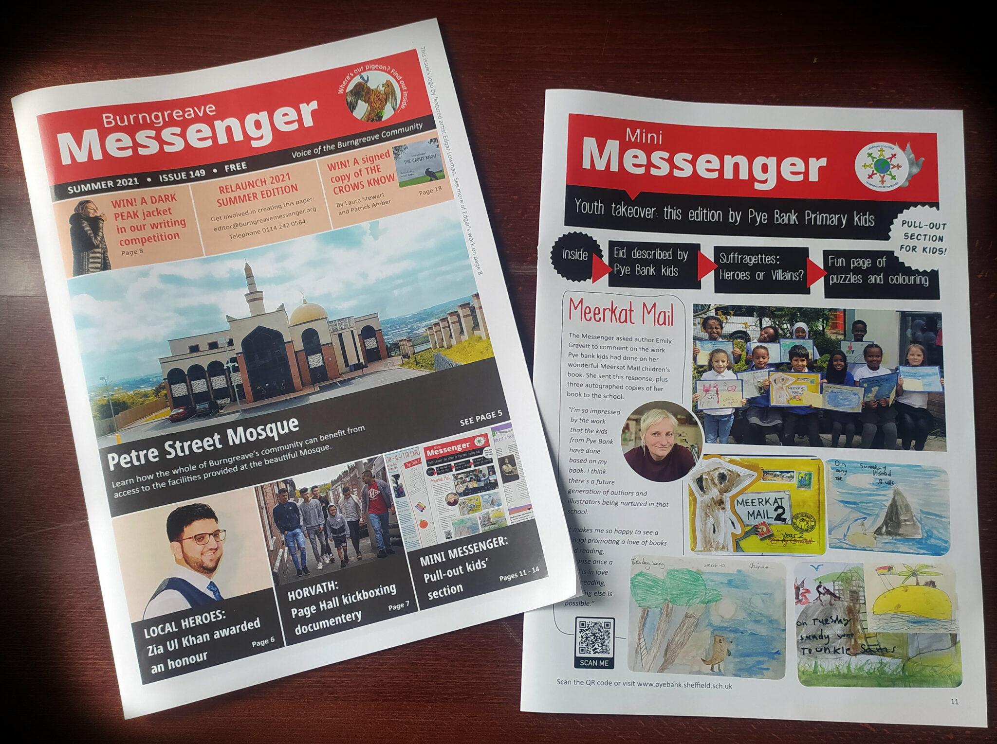 Burngreave Messenger Summer 2021 Issue 149