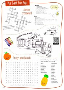 Pye Bank Fun Page Summer 2021 Issue 149