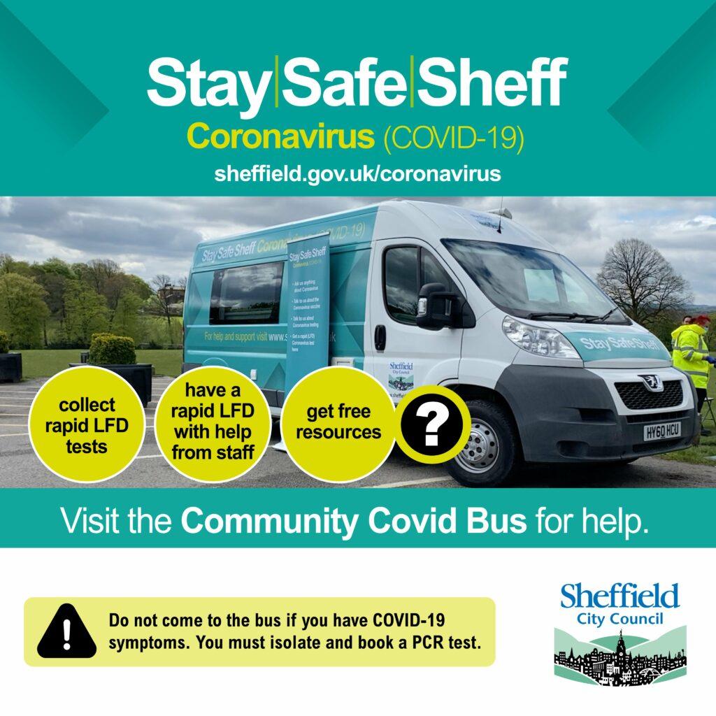 Community Covid Bus ad3
