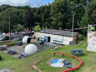 Playground new roof