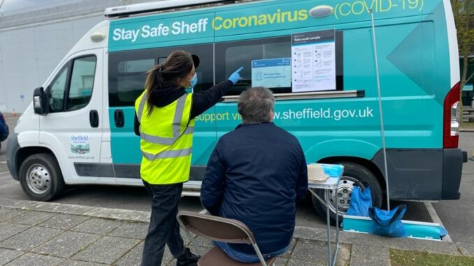 Covid Community Bus