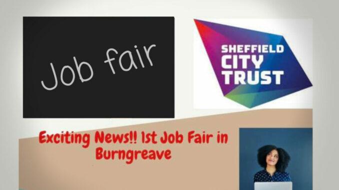 Job fair card