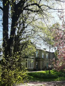 Abbeyfield house in the blossom