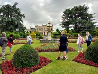 Abbeyfield gardeners visit Brodsworth Hall