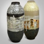 Emilie Taylor - two of her pots.