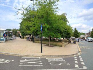 Corner of Ellesmere Green.