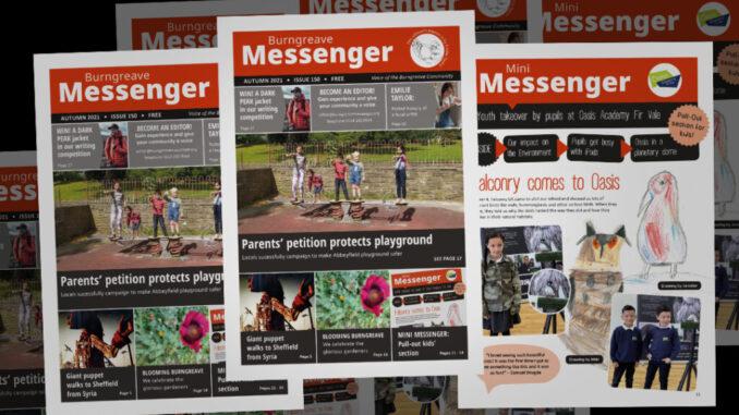 Messenger Autumn 2021 spread