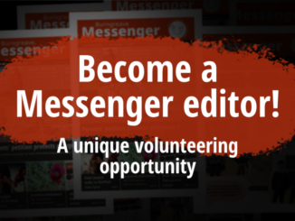 Become a Messenger editor