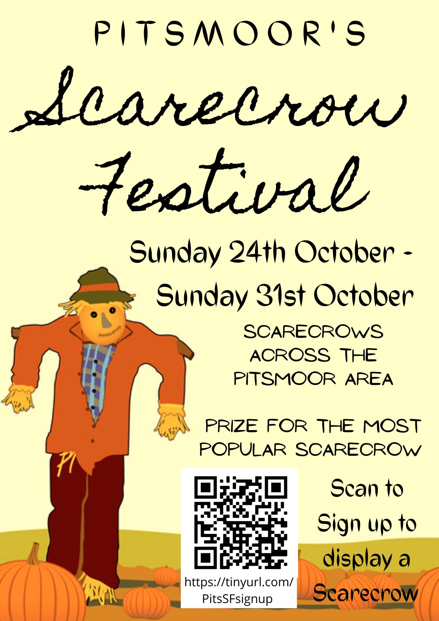 Scarecrow Festival flyer